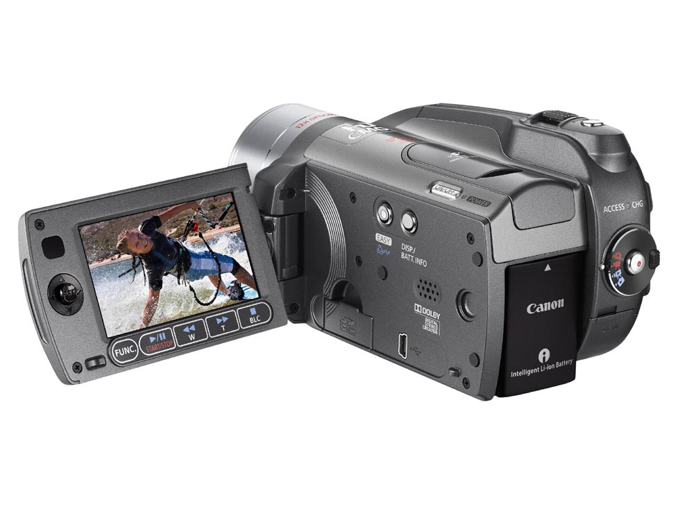 Canon HG20 SD HD-Camcorder 60 GB Silver