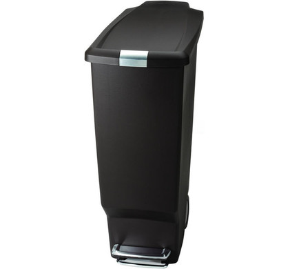 simplehuman slim 40 liter mokka. Black Bedroom Furniture Sets. Home Design Ideas