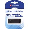 Verbatim Store N Go Slider Usb 2.0 32 GB