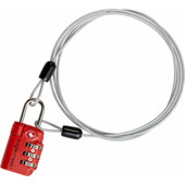 Eagle Creek 3-Dial TSA Lock & Cable Orange