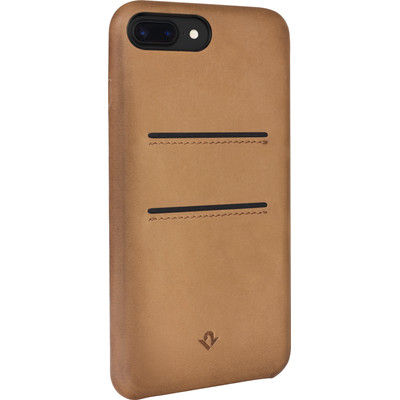 Twelve South Relaxed Leather Pockets Apple iPhone 7 Plus Back Cover Bruin