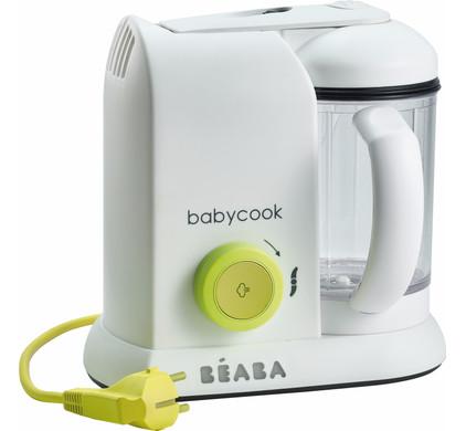 Beaba Babycook Stomer en Blender Neongeel