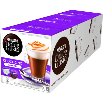 Image of Dolce Gusto Choco Caramel 3 pack