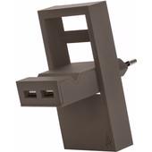 USBEPOWER Thuislader 2 USB poorten 2,1 A Bruin