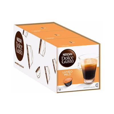 Image of Dolce Gusto Lungo Mild 3 pack