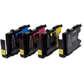 Huismerk LC-1240 4-Kleuren Pack voor Brother printers (LC-1240VALBP)