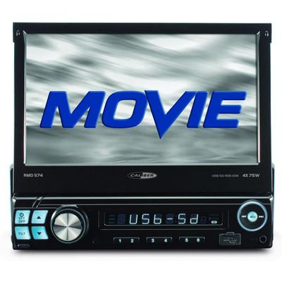 Image of Caliber Auto Radio RMD574 4x 75W, USB, Video