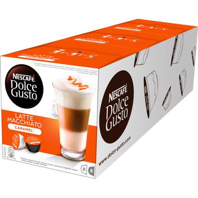 Image of Dolce Gusto Caramel Macchiato 3 pack