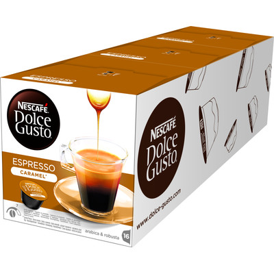 Image of Dolce Gusto Espresso Caramel 3 pack