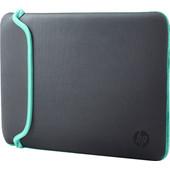 HP 14'' Chroma Reversible Sleeve Grijs/Groen
