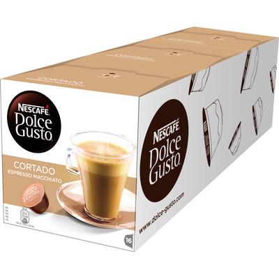 Image of Dolce Gusto Cortado Espresso Macchiato 3 pack