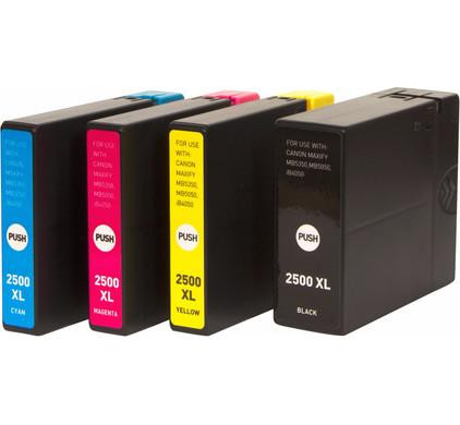 Huismerk PGI-2500 XL 4-Kleuren voor Canon printers (9254B004)