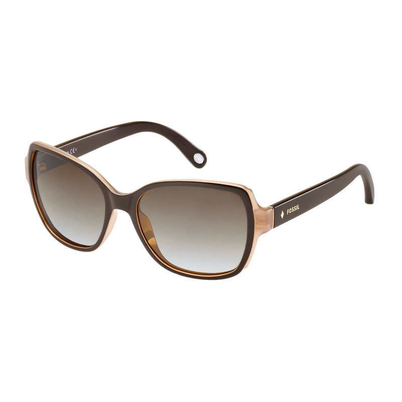 Fossil 3004-S Nude Brown- Brown Polarized