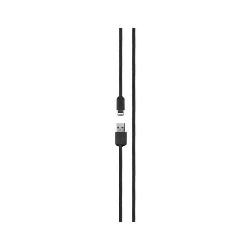 Xqisit Lightning Kabel 1,8m Zwart