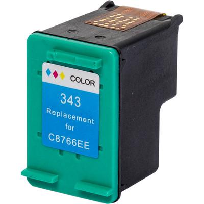 Pixeljet inktcartridge HP 343 - kleur