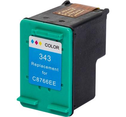 Huismerk 343 3-Kleuren voor HP printers (C8766EE)