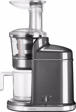 KitchenAid Artisan Slowjuicer Zilver - Coolblue