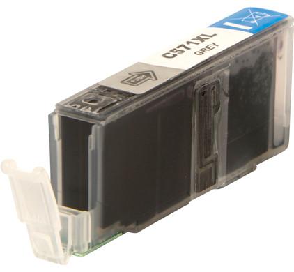Huismerk CLI-571XL Grijs voor Canon printers (0335C001)