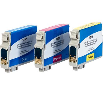 Huismerk T1306XL 3-Kleuren Pack voor Epson printers (T13064010)