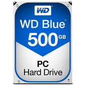 WD Blue HDD 500 GB 5400RPM