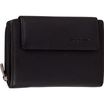 Image of Burkely Classic Collin Wallet Zip Flap CC Black