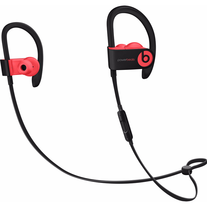 Beats by Dr. Dre Powerbeats3 Stereofonisch oorhaak Zwart, Rood