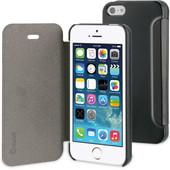 Muvit Folio Apple iPhone 5/5S/SE Book Case Zwart