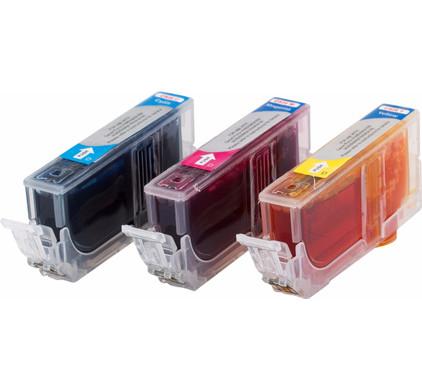 Huismerk CLI-526CMY 3-Kleuren Pack voor Canon printers (4541B009)