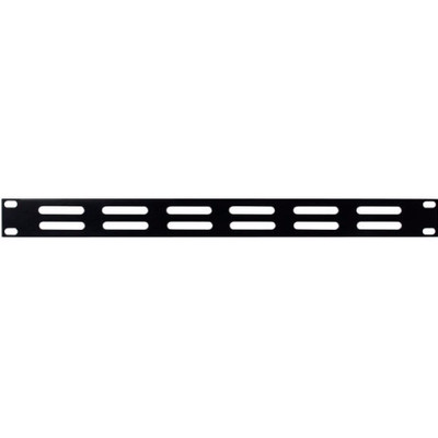 Image of DAP 19 inch ventilatiepaneel 1 HE zwart