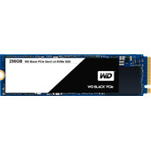 WD Black PCIe SSD 256 GB