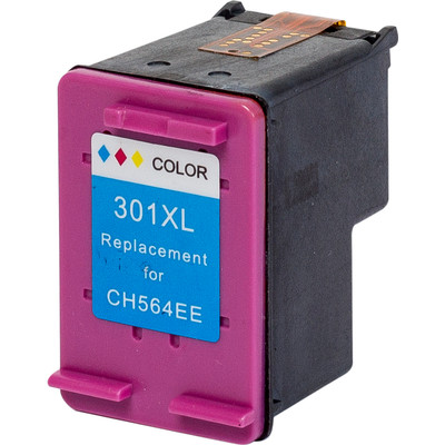 Pixeljet inktcartridge HP 301XL cmy