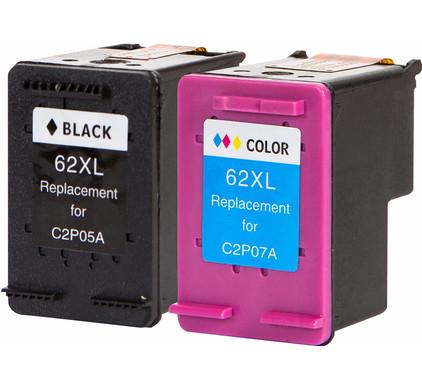 Huismerk 62XL Combo Pack voor HP printers