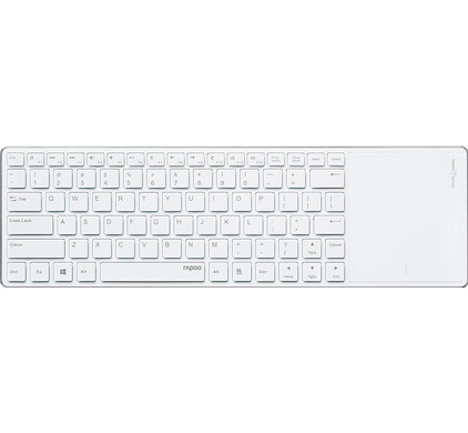 Rapoo E2800P Wireless Touchpad Keyboard Wit QWERTY
