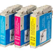 Huismerk 27 XL 3-Kleuren Pack voor Epson printers (C13T27154010)