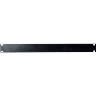 Image of DAP 19 inch blindplaat 1 HE U-vorm zwart