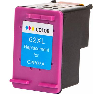 Huismerk 62XL Cartridge 4 Kleur voor HP printers (C2P07AE)