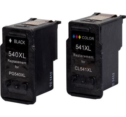 Huismerk 540/541 4-Kleuren Pack voor Canon printers (5225B006)