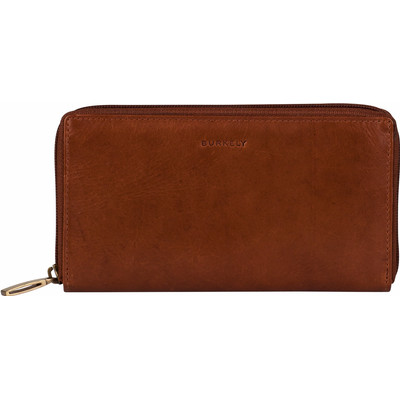 Image of Burkely Daily Dylan Wallet Zip Around Brown