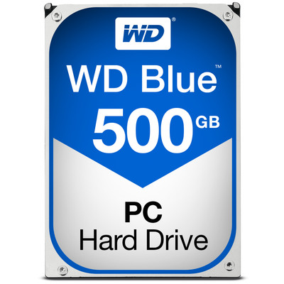 Western Digital 500GB BLUE SATA 6GB/S 7200RPM 32MB 3.5IN (WD5000AZLX)