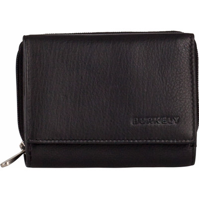 Image of Burkely Classic Collin Wallet CC Zip Black