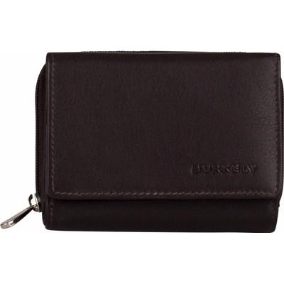 Image of Burkely Classic Collin Wallet CC Zip Dark Brown