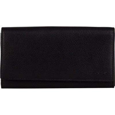 Image of Burkely Classic Collin Wallet Flap Over 2 Black