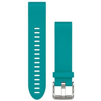 Garmin Fenix 5s QuickFit Siliconen Polsband - Turquoise