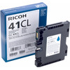 Ricoh Gel Cartridge SY GC41CL Cyaan (405766)