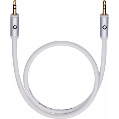Oehlbach i-Connect J-35 3,5 mm naar 3,5 mm kabel 3 meter Wit