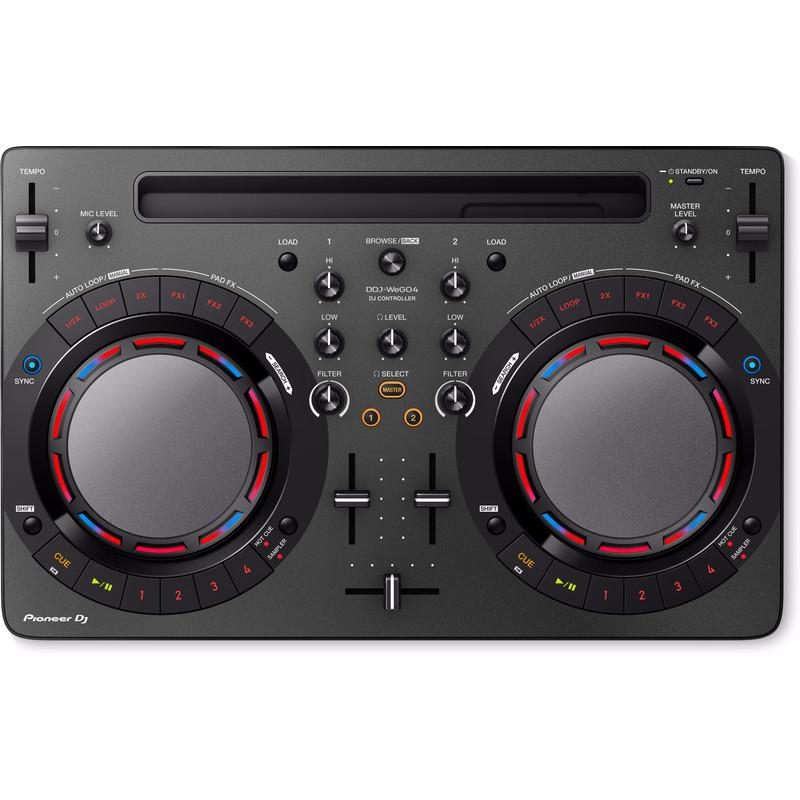 Pioneer DDJ-WeGO4-K DJ controller zwart