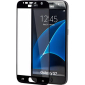 Azuri Edge to Edge Samsung Galaxy S7 Screenprotector Glas Zwart