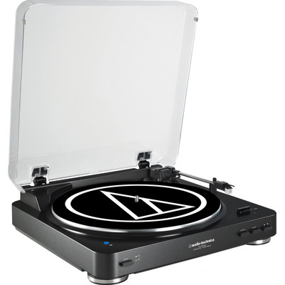 Image of Audio-Technica AT-LP60BKBT Zwart