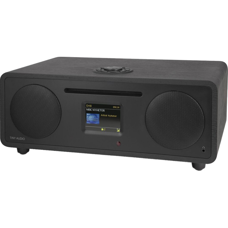 Tafelradio CD-Speler Stereo Wide DAB+ FM Wifi BT