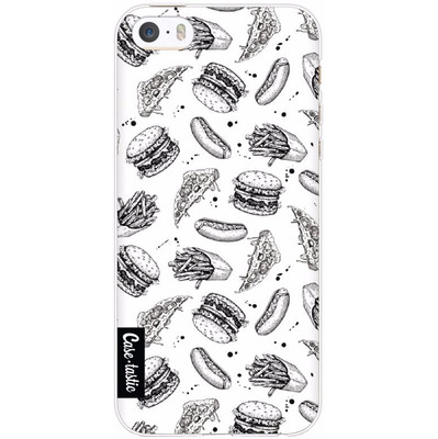 Image of Casetastic Softcover Apple iPhone 5/5S/SE Drawn Junkfood